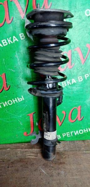 Стойка Mini Cooper R56 N16B16A 2010 передняя правая (б/у) 2WD WMWSU32020T036926
