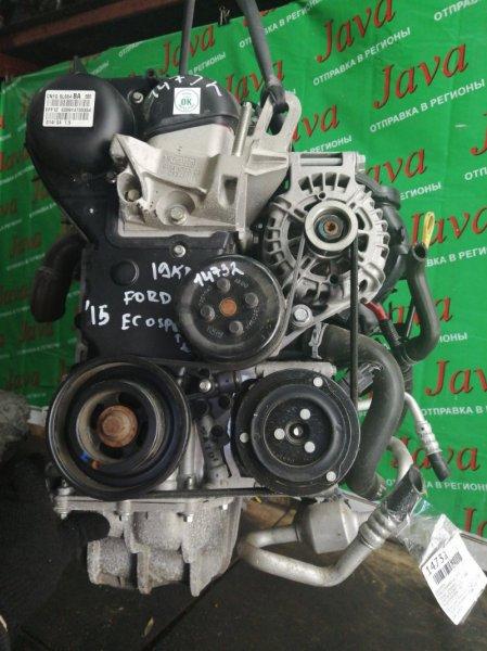 Двигатель Ford Ecosport UEJ 2015 (б/у) ПРОБЕГ-19000КМ. КОСА+КОМП. 2WD. ПОД А/Т. СТАРТЕР В КОМПЛЕКТЕ. MAJBXXMRKBEB26987