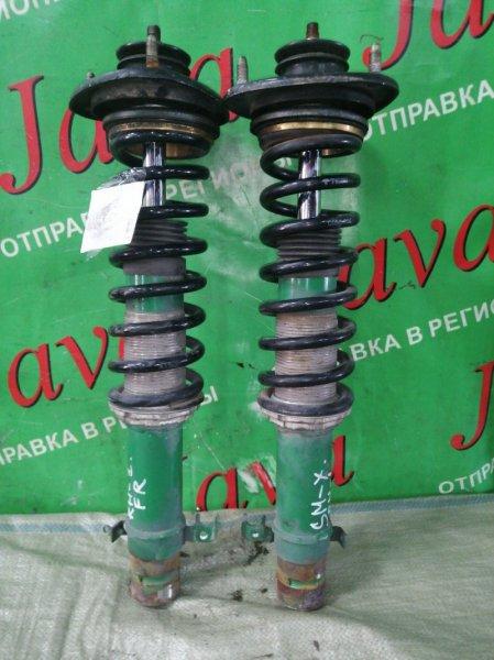 Стойка Honda S-Mx RH1 B20B 2001 передняя (б/у) 2WD. TEIN LOW DOWN SPEC/ COOL STYLE MASTER/ TYPE WAGON. ПАРА.