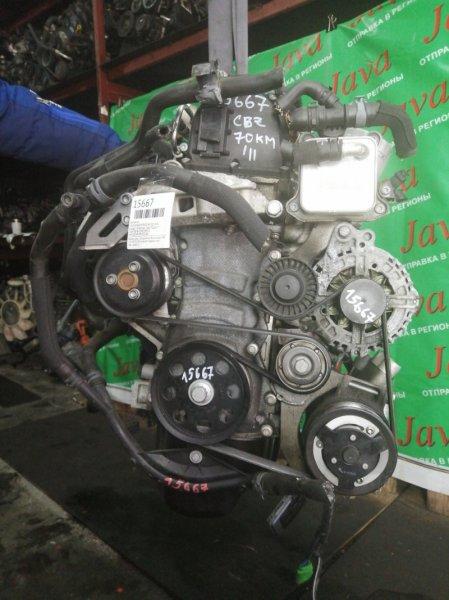 Двигатель Volkswagen Polo 6R1 CBZ 2011 (б/у) ПРОБЕГ-70000КМ. 2WD. КОСА+КОМП. ПОД А/Т. СТАРТЕР В КОМПЛЕКТЕ. WVWZZZ6RZBU032464
