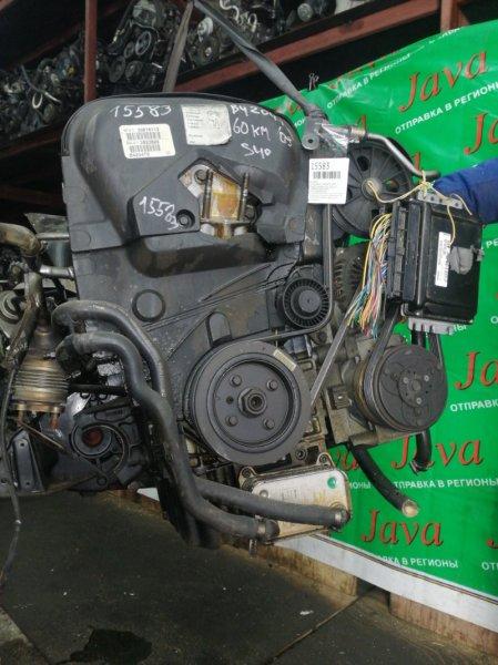 Двигатель Volvo S40 VS29 B4204T3 2003 (б/у) ПРОБЕГ-60000КМ. 2WD. ПОД А/Т. СТАРТЕР В КОМПЛЕКТЕ. YV1VS29693F930532