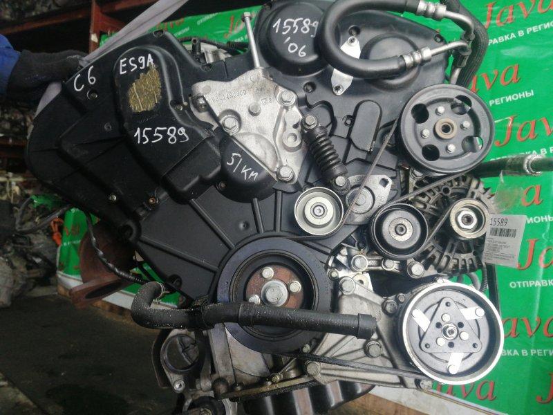 Двигатель Citroen C6 VF7 XFV 2006 (б/у) ПРОБЕГ-51000КМ. 2WD. +КОМП. ПОД А/Т. СТАРТЕР В КОМПЛЕКТЕ. VF7TDXFVJ78005954