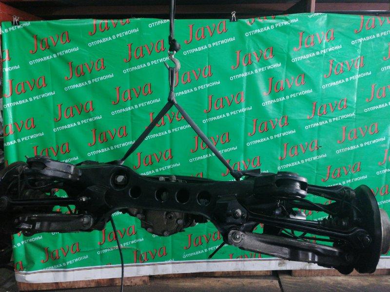 Балка Bmw 3-Series E90 N46B20 2007 задняя (б/у) 2WD. ABS. В СБОРЕ. WBAVA76070NL28566  320i