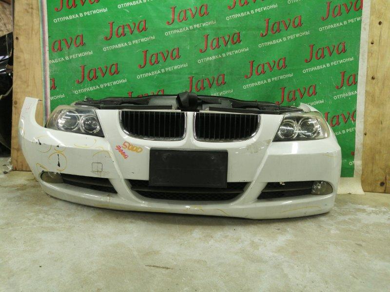 Ноускат Bmw 3-Series E90 N46B20 2005 передний (б/у) КСЕНОН. ТУМАНКИ. 320i. 2WD. A/T. ПОТЕРТОСТИ НА БАМПЕРЕ.  WBAVA760X0NK15727