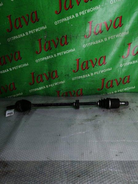 Привод Honda Airwave GJ1 L15A 2006 передний правый (б/у) 2WD