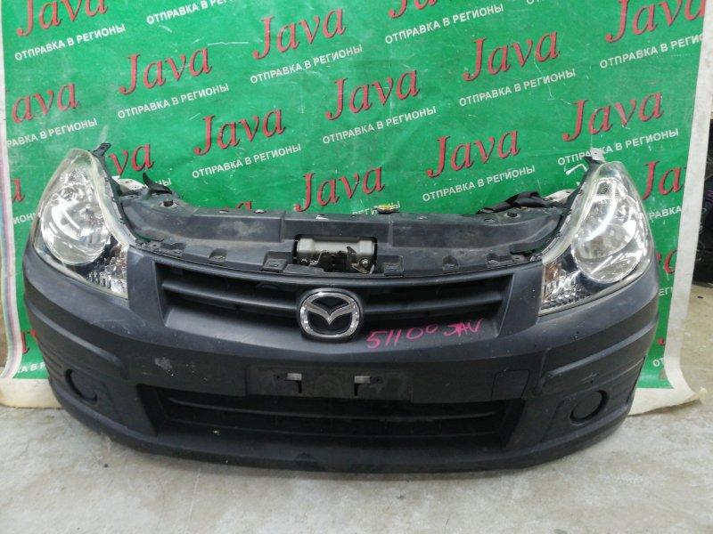 Ноускат Mazda Familia VAY12 CR12DE 2008 передний (б/у) ПОД АКПП.