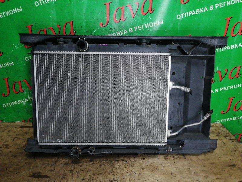 Радиатор основной Peugeot 307 3A/C EW10J4 2004 передний (б/у) A/T. VF33BRFNF83531981. + кондиционера
