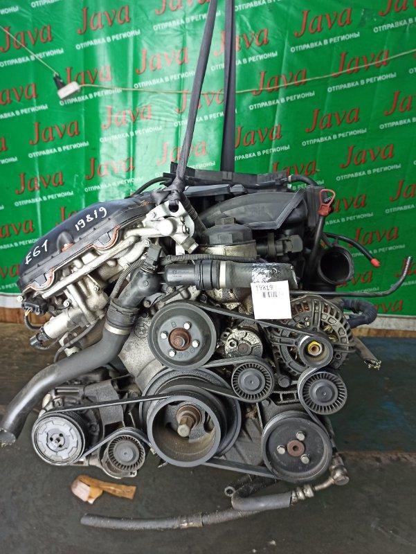 Двигатель Bmw 5-Series E61 M54B25 2004 (б/у) ПРОБЕГ-41000КМ. 2WD. КОСА+КОМП. ПОД А/Т. СТАРТЕР В КОМПЛЕКТЕ. WBANA52000B574659