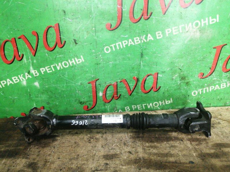 Кардан Suzuki Jimny JA22W K6A-T 1993 задний (б/у) 4WD. РАЗБИТА  КРЕСТОВИНА