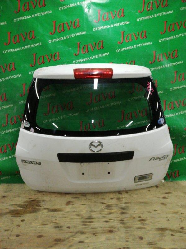 Дверь задняя Mazda Familia VAY12 CR12DE 2008 задняя (б/у) ПОТЕРТОСТИ