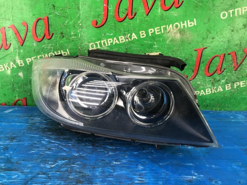 Фара Bmw 3-Series E91 N46 2007 передняя правая (б/у) WBAVR72010KW42097. XENON