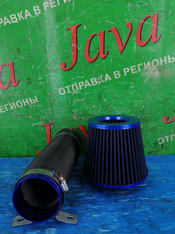 Фильтр воздушный (б/у) Нулевик +патрубок. Диаметр 75мм