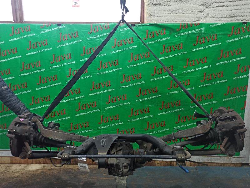 Балка Bmw 3-Series E46 N42B20 2001 задняя (б/у) 2WD. ABS. В СБОРЕ. WBAAU52000KN41053. 318Ti