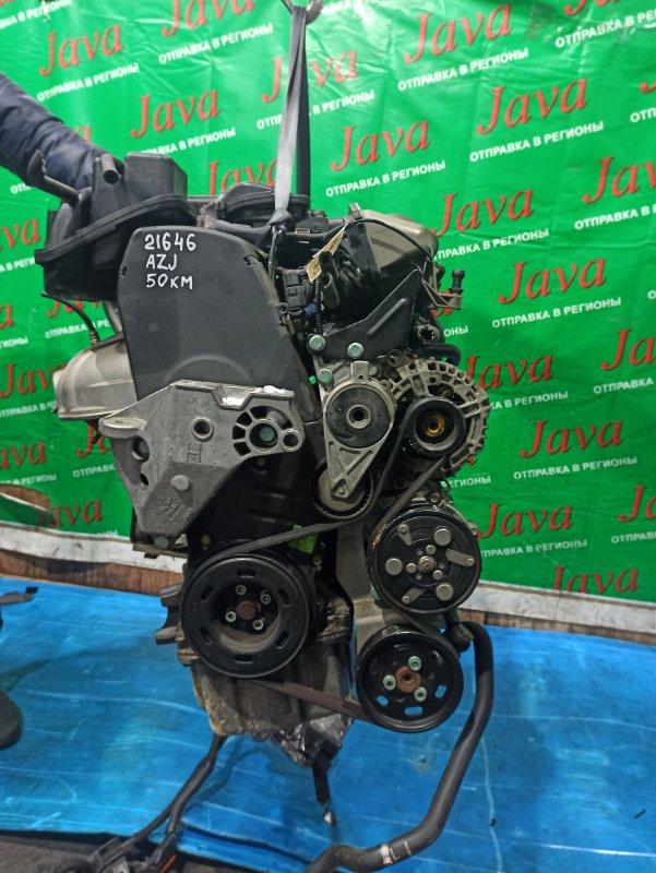 Двигатель Volkswagen Golf 1J1 AZJ 2004 (б/у) ПРОБЕГ-50000КМ. 2WD. КОСА+КОМП. ПОД А/Т. СТАРТЕР В КОМПЛЕКТЕ. WVWZZZ1JZ4W089611
