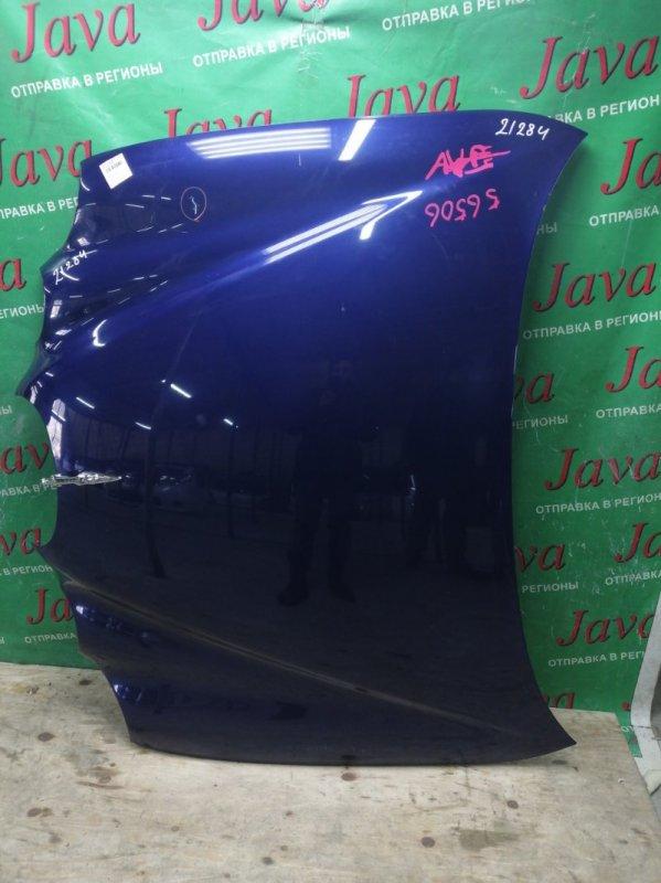 Капот Jaguar S-Type X200 AJ30 2004 передний (б/у) SAJKC02N05JN35163. ПОТЕРТОСТИ. ТЫЧКА.