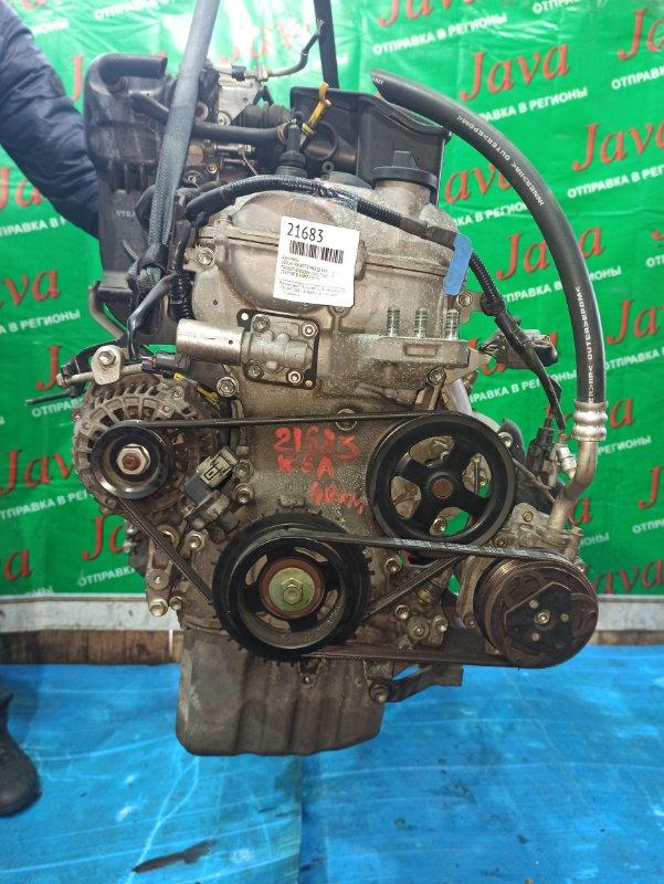 Двигатель Suzuki Palette MK21S K6A 2009 (б/у) ПРОБЕГ-40000КМ. 2WD. +КОМП. МЕХ. ЗАСЛОНКА. ПОД А/Т. СТАРТЕР В КОМПЛЕКТЕ.