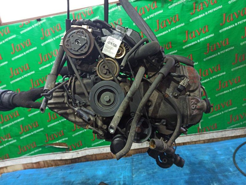 Двигатель Suzuki Every DA62V K6A-T 2002 (б/у) ПРОБЕГ-60000КМ. 4WD. ПОД А/Т. СТАРТЕР В КОМПЛЕКТЕ.