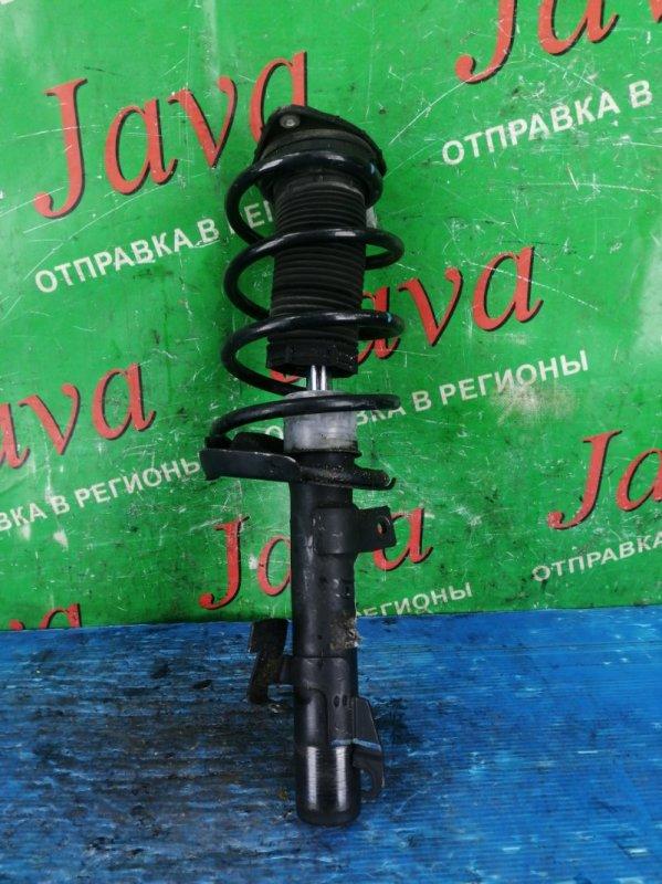 Стойка Volvo V50 MW43 B4204S 2008 передняя правая (б/у) 2WD. YV1MW384942002492