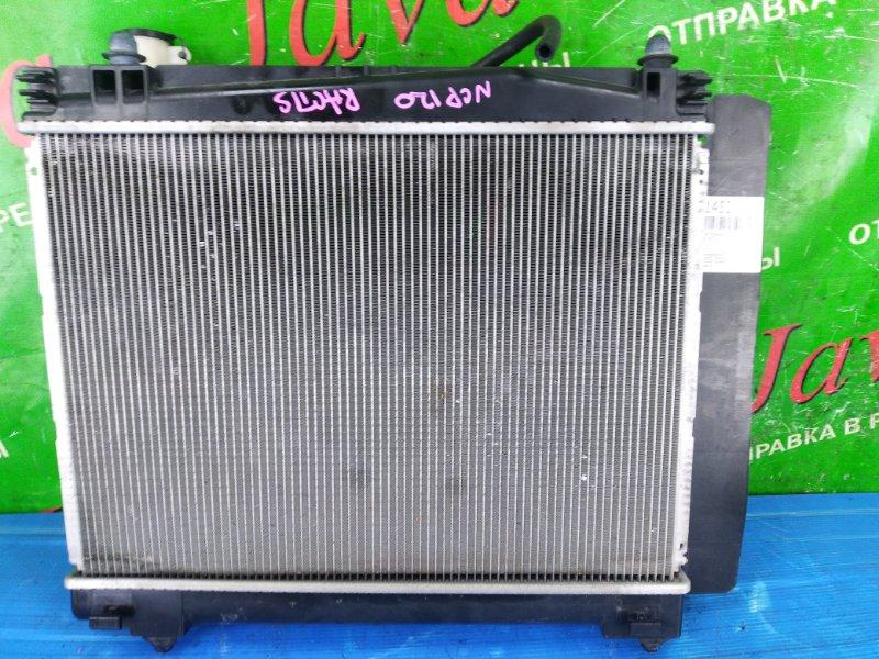 Радиатор основной Toyota Ractis NCP120 1NZ-FE 2011 передний (б/у) A/T