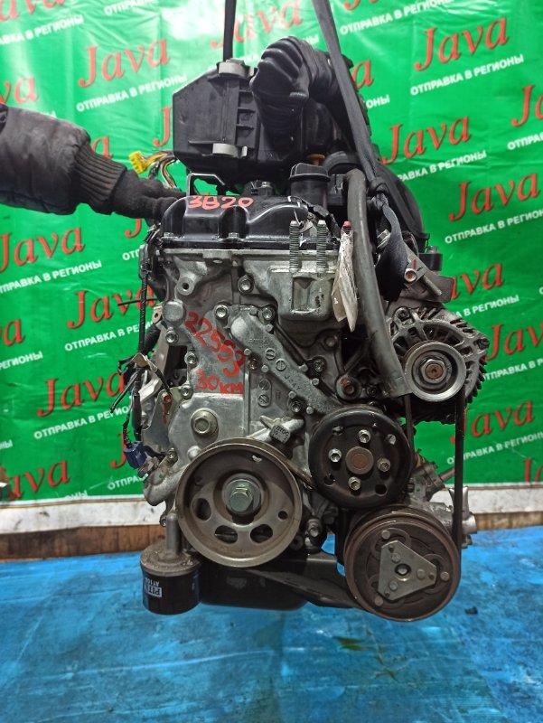 Двигатель Nissan Dayz Roox B21A 3B20 2015 (б/у) ПРОБЕГ-30000КМ. 2WD. КОСА+КОМП. ЭЛЕКТРО ЗАСЛОНКА.  ПОД А/Т. СТАРТЕР В КОМПЛЕКТЕ. ЛОМ КЛАПАННОЙ КРЫШКИ.
