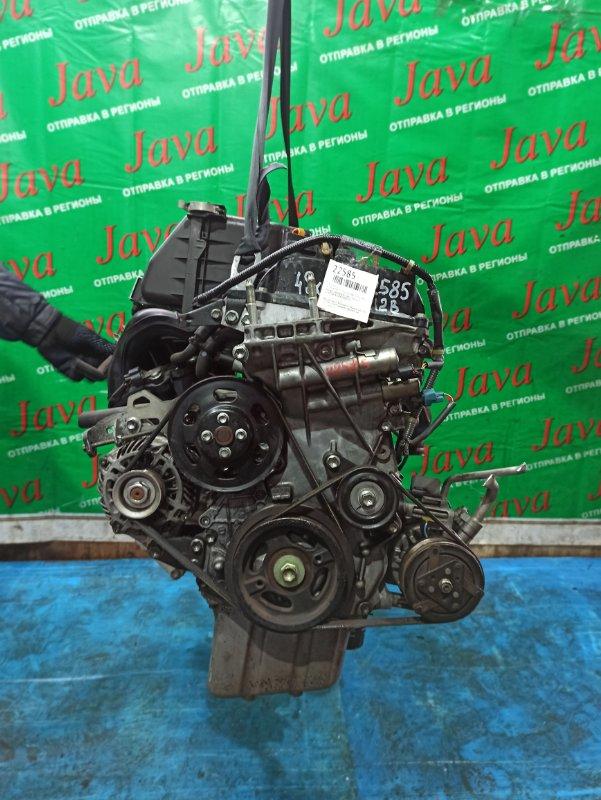 Двигатель Mitsubishi Delica D2 MB15S K12B 2013 (б/у) ПРОБЕГ-49000КМ. 2WD. ПОД А/Т. СТАРТЕР В КОМПЛЕКТЕ.