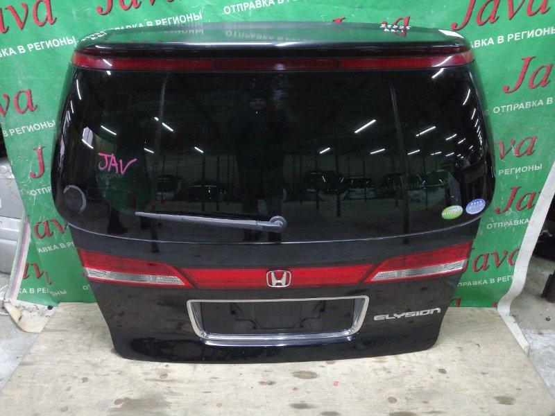 Дверь задняя Honda Elysion RR1 K24A 2005 задняя (б/у) СПОЙЛЕР. МЕТЛА. КАМЕРА. 2-я модель.