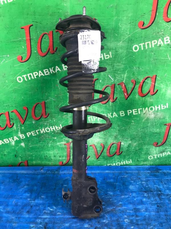 Стойка Toyota Will Cypha NCP70 2NZ-FE 2003 передняя правая (б/у) 2WD