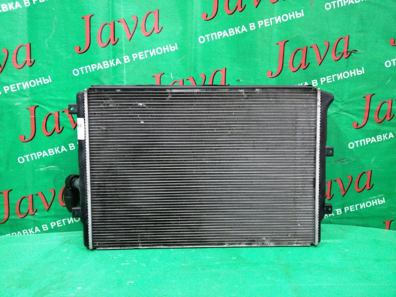 Радиатор основной Audi Tt 8J3 BWA 2007 передний (б/у) A/T. TRUZZZ8J671014493 В СБОРЕ КАК НА ФОТО.