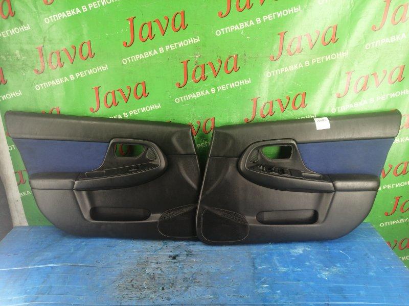 Обшивка дверей Subaru Impreza GDB EJ207 2004 передняя (б/у) ПАРА.