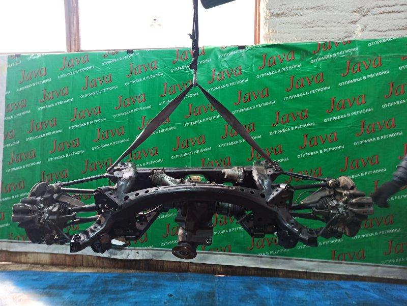 Балка Mazda Roadster NCEC LF-VE 2005 задняя (б/у) A/T. ЛОМ КРЕПЛЕНИЯ РЕДУКТОРА