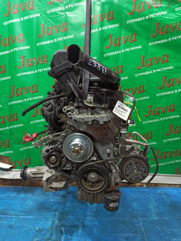 Двигатель Daihatsu Tanto LA610S KF-VE 2016 (б/у) ПРОБЕГ-42000КМ. 4WD. +КОМП. ПОД А/Т. СТАРТЕР В КОМПЛЕКТЕ.
