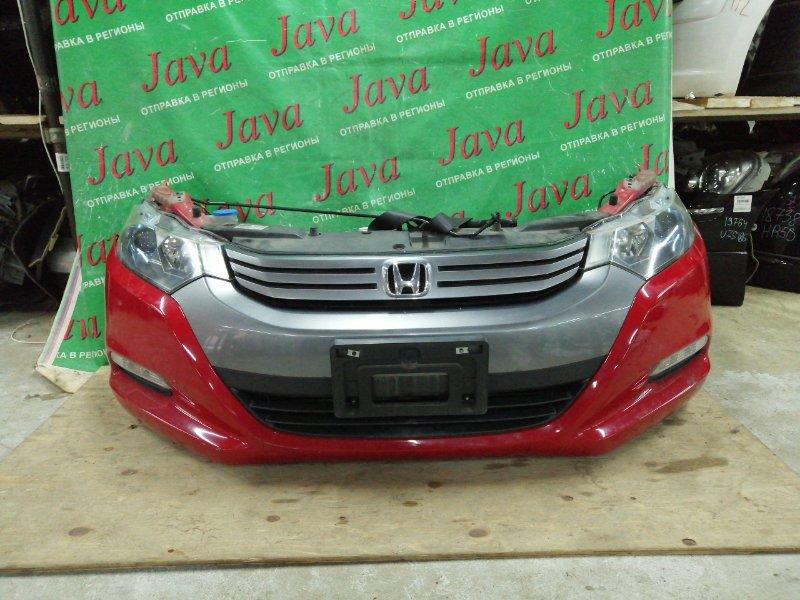 Ноускат Honda Insight ZE2 LDA 2009 передний (б/у) КСЕНОН. ПОТЕРТОСТИ. ЛОМ КРЕПЛЕНИЯ БАМПЕРА.