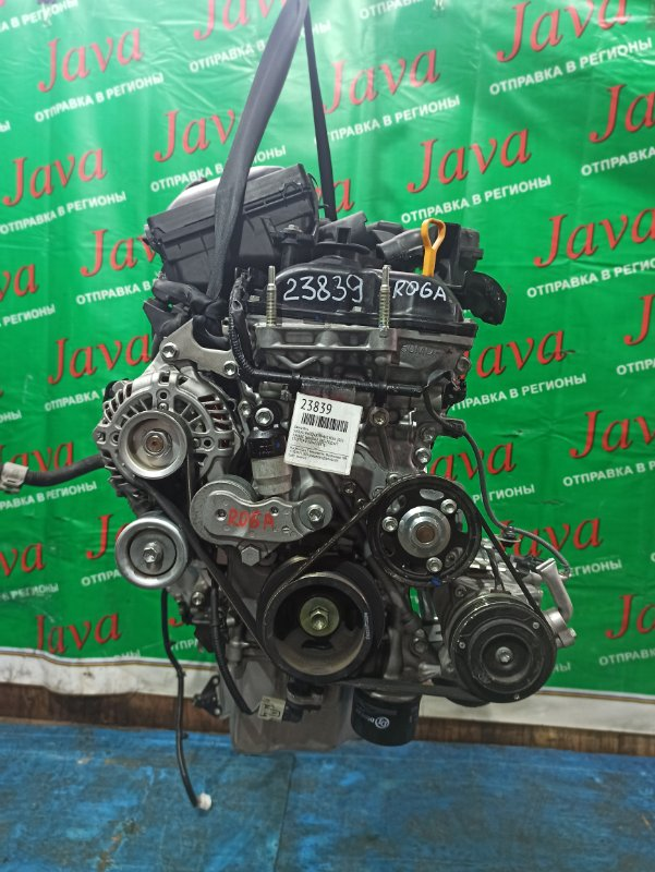 Двигатель Suzuki Wagon R MH44S R06A 2016 (б/у) ПРОБЕГ-16000КМ. 2WD. КОСА+КОМП. ПОД А/Т. СТАРТЕР В КОМПЛЕКТЕ.