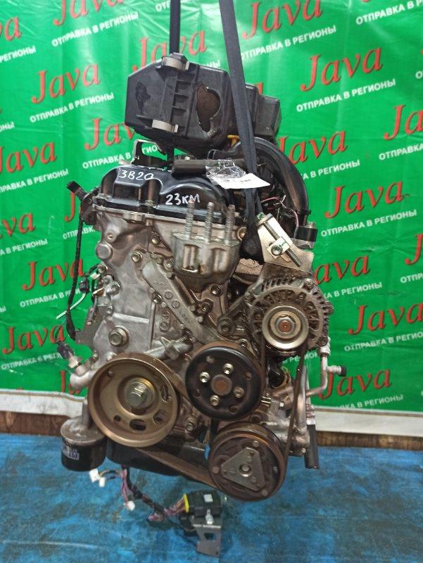 Двигатель Nissan Dayz B21W 3B20 2014 (б/у) ПРОБЕГ-23000КМ. 2WD. КОСА+КОМП. ПОД А/Т. СТАРТЕР В КОМПЛЕКТЕ.