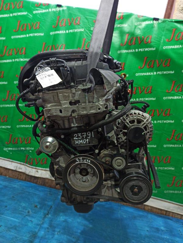 Двигатель Citroen Ds3 S EB2F 2015 (б/у) ПРОБЕГ-37000КМ. 2WD. КОСА+КОМП. ПОД МКПП. СТАРТЕР В КОМПЛЕКТЕ.