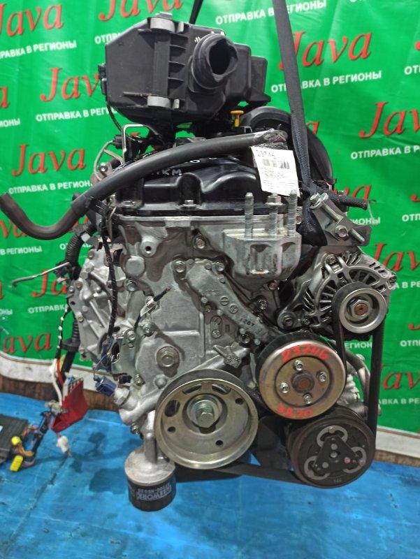 Двигатель Nissan Dayz B21W 3B20 2017 (б/у) ПРОБЕГ-21000КМ. 2WD. КОСА+КОМП. ПОД А/Т. СТАРТЕР В КОМПЛЕКТЕ.