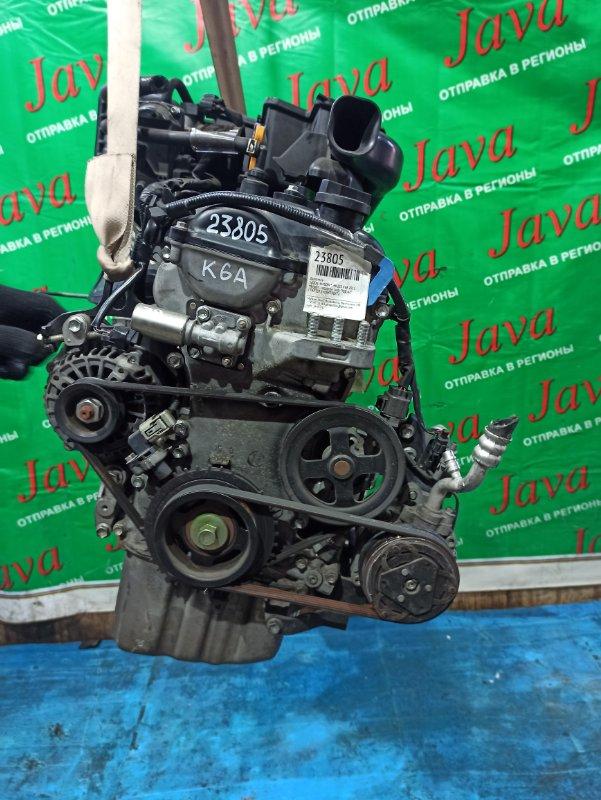 Двигатель Suzuki Wagon R MH23S K6A 2011 (б/у) ПРОБЕГ-39000КМ. 2WD. +КОМП. ЭЛЕКТРО ЗАСЛОНКА. ПОД А/Т. СТАРТЕР В КОМПЛЕКТЕ.