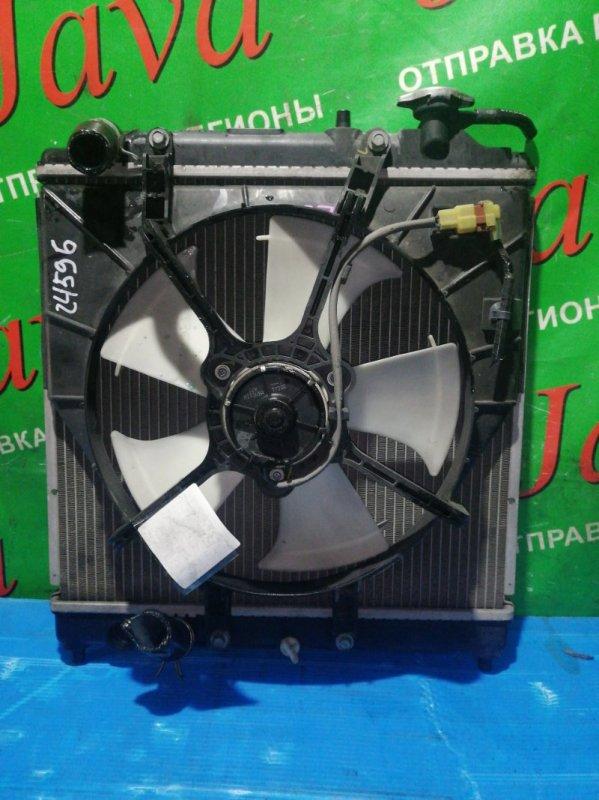 Радиатор основной Honda Vamos HM1 E07Z 2007 передний (б/у) A/T