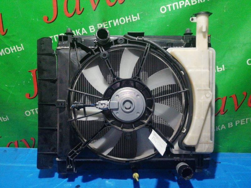 Радиатор основной Toyota Ractis NCP120 1NR-FE 2010 передний (б/у) A/T