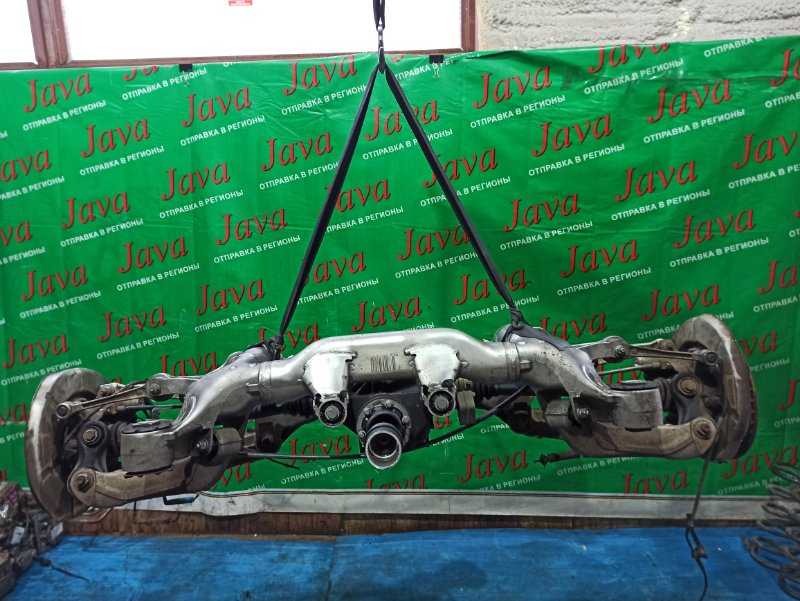 Балка Bmw 5-Series E61 M54B25 2004 задняя (б/у) 2WD. A/T. ABS. Г/П 3.73. WBANA52000B574659 525i