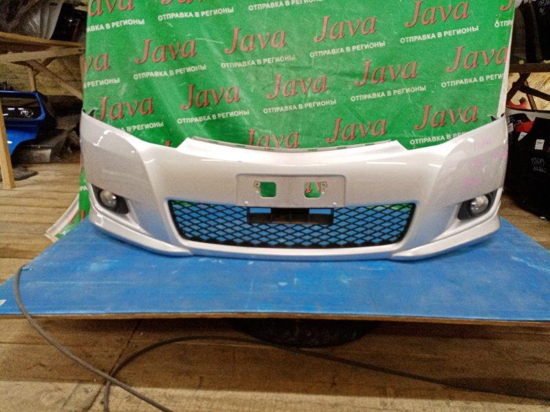 Бампер Toyota Allion ZRT260 2ZR-FE 2007 передний (б/у) ТУМАНКИ, КОРРЕКТОР, ПОТЁРТОСТИ, НАКЛАДКИ.