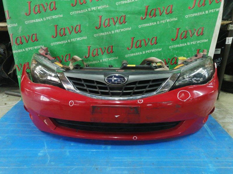 Ноускат Subaru Impreza GH2 EL154 2008 передний (б/у) КСЕНОН. ТУМАНКИ. ДЕФЕКТЫ ПО БАМПЕРУ. ПОД А/Т. ЛОМ ВЕРХНЕГО КРЕПЛЕНИЯ ПРАВОЙ ФАРЫ.