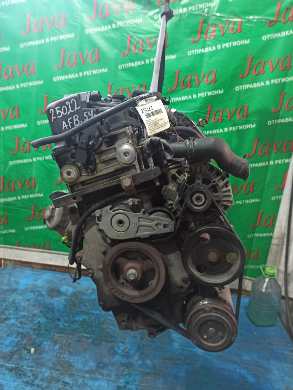 Двигатель Mini Cooper R50 W10B16A 2004 (б/у) ПРОБЕГ-54000КМ. 2WD. +КОМП. ПОД А/Т. СТАРТЕР В КОМПЛЕКТЕ. WMWRC32040TJ03897