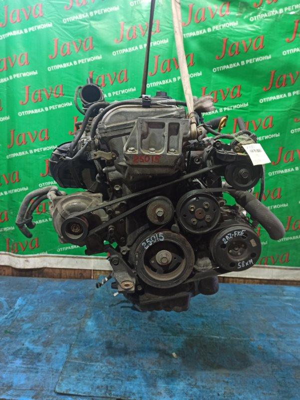 Двигатель Toyota Estima AHR10 2AZ-FXE 2001 (б/у) ПРОБЕГ-58000КМ. 4WD.+КОМП. ПОД А/Т. СТАРТЕР В КОМПЛЕКТЕ. ЛОМ ДАТЧИКА VVT-I.