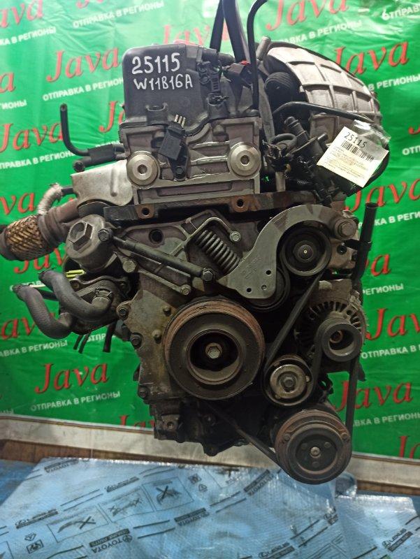Двигатель Mini Mini Cooper R53 W11B16A 2004 (б/у) КОСА+КОМП. 2WD. ПОД М/Т. СТАРТЕР В КОМПЛЕКТЕ. WMWRE32050TC86790. ЛОМ КАТУШКИ.