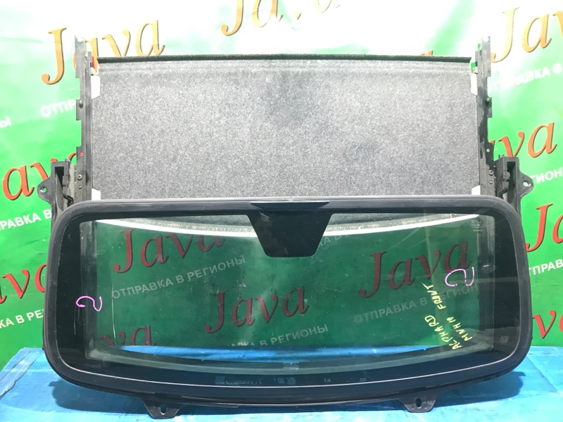 Люк Toyota Alphard MNH10 2002 передний (б/у) ПЕРЕДНИИ, В СБОРЕ.ЭЛЕКТРИЧЕСКИЙ. СДВИЖНОЙ