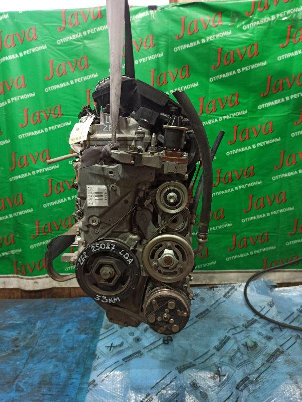 Двигатель Honda Insight ZE2 LDA 2009 (б/у) ПРОБЕГ-33000КМ. КОСА+КОМП. 2WD. ПОД А/Т.