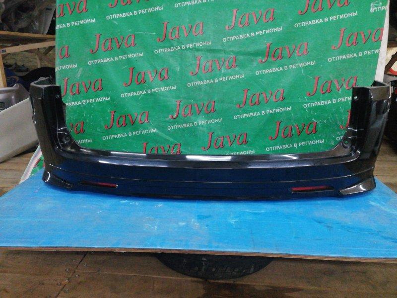 Бампер Honda Step Wagon RG1 K20A 2005 задний (б/у) ПОТЕРТОСТИ. ГУБА