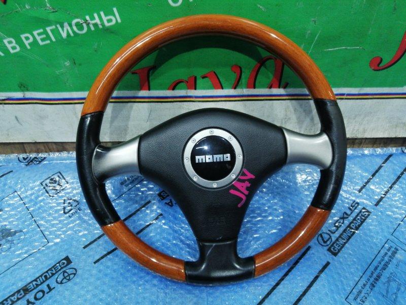 Руль Daihatsu передний (б/у) MOMO. БЕЗ ПАТРОНА. ПОД ДЕРЕВО.