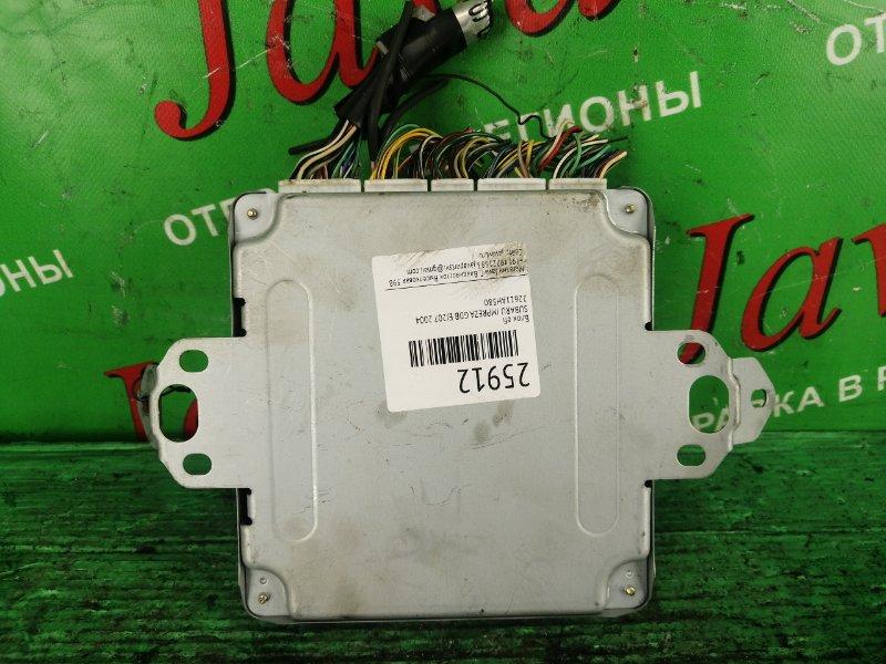 Блок efi Subaru Impreza GDB EJ207 2004 (б/у) 22611AH580